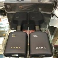 Parfum Original Zara Man Silver & Gold 2 PCS BOX Segel