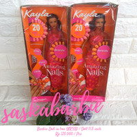Boneka Barbie Amazing Nails NRFB / Doll 11.5 inch / Original Mattel