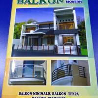 Katalog album majalah balkon modern