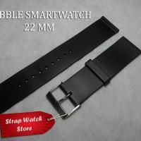 Tali Strap Jam Pebble Smartwatch Silicone 22 MM Hitam