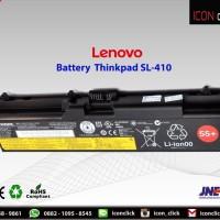 Baterai Laptop Lenovo Thinkpad Original L410 L421 L520 ORI Battery