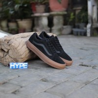 Harga Sepatu Vans Black Gum Original Travelbon.com