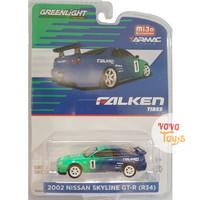 Greenlight x Tarmac Mijo 2002 Nissan Skyline GT-R (R34) Falken