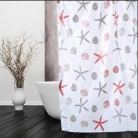 Tirai kamar mandi anti air shower curtain size 183x183 motif - HPR070