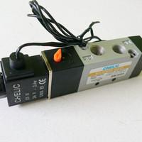 Harga pneumatic single solenoid valve 5 2 g1 8 chelic sv 5101 sw   antitipu.com