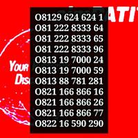 Jual KARTU PERDANA SIMPATI 3G NOMOR CANTIK TELKOMSEL INDONESIA MURAH MERIAH Murah