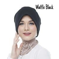 Turban instan - waffle black