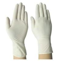Sarung tangan karet latex tipis