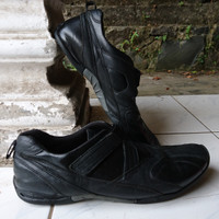 Sepatu Formal Lecaf Neo 2 Leather Shoes Black Size 39