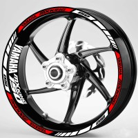 Sticker Velg Motor whell striping Yamaha MX king 150 ring 17