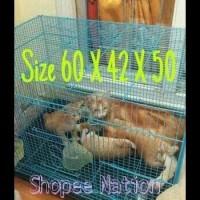 Harga kandang lipat besi kucing kelinci burung hamster sugar glider size | Pembandingharga.com