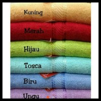 Handuk Merah Putih 70X140 Cm / Handuk Mandi / High Quality Towel