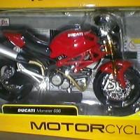 Lego Brick Tomica)Maisto 1:12 Ducati Monster 696 New model 31101