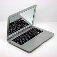 New Kaca Rias Cermin Saku Pocket Kecil Laptop Apple Macbook Silver 113
