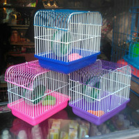 kandang hamster mini Oren putih