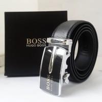 Ikat Pinggang / Gesper Kulit Pria Branded Hugo Boss Exclusive