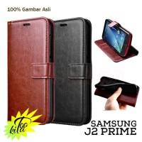 Samsung Galaxy J2 Prime Retro PU Leather Case Flipcase Luxury Wallet