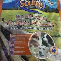 Nutrisource grainfree premium dog food - Lamb&Peas Formula eceran 100g