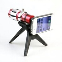 Harga lesung telephone lens kit 12 5x zoom magnifier for iphone 5 a tl | Pembandingharga.com