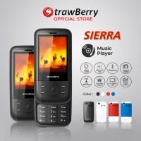 Strawberry – Sierra | Handphone Slide HP Murah Kamera Bluetooth