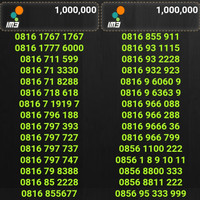 Harga nomor cantik indosat kartu perdana mentari im3 | WIKIPRICE INDONESIA