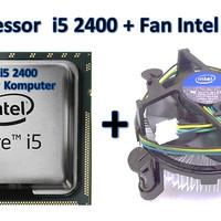 HARGA KHUSUS Processor LGA 1155 Intel Core i5 2400 Fan Intel ORI