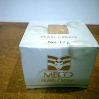 Cream pemutih wajah meco pearl asli BPOM