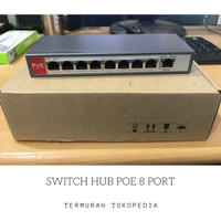 SWITCH HUB POE 8 PORT TERMURAH