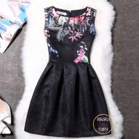 Little Black Dress Party Dress - Mini Dress Hitam