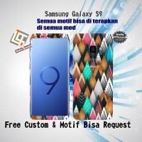 Garskin HP Samsung Galaxy S9 motif Crayon - motif bisa request