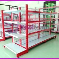 Rak Gondola / Rak display barang Minimarket / Swalayan