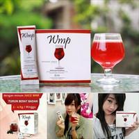 1 Box Produk WMP berisi 15 sachet  WMP HWI adalah produk pelangsing