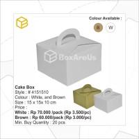 4151510 W | Dus Kue, Box Kue, Cake Box, Gift Box, Kado, Souvenir Box