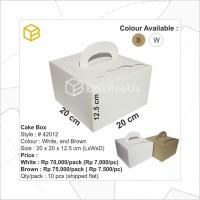 # 42012-W | Dus Kue, Box Kue, Cake Box, Gift Box, Kado, Souve