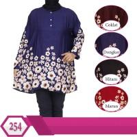 Baju Atasan Wanita Ukuran Jumbo XXXL motif Batik Etnik Model Terbaru