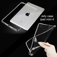 Jelly Case Soft Case Casing Ultra thin iPad mini 4 Clear Transparant