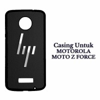 Casing MOTO Z FORCE hp rebrand logo Hardcase Custom Cover