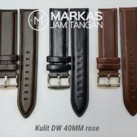 Jual Tali Kulit Jam Tangan Daniel Wellington DW Leather Strap ORIGINAL Murah