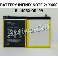 Baterai/Battery Note 2 - X600 / BL-40BX