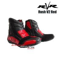 Sepatu Touring RvR Rush V2 Red