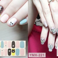 Nail sticker / sticker kuku / stiker kuku / cute cartoon design