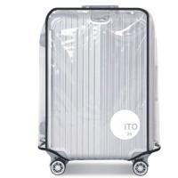 """Luggage Cover Transparant Cover Pelindung Koper Transparan ITO 26""""A576"""