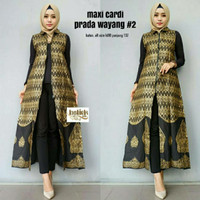 Long Cardi Batik Exclusive - Outer