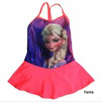Baju Renang Bayi Seksi Karakter Frozen SR-BY058