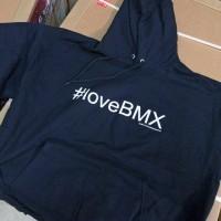 Harga jaket sweater zipper hoodie love bmx | Hargalu.com