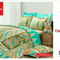 Bed Cover + Sprei Batik Carmina (1 set)