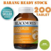 Jual Blackmores Odourless Garlic BPOM Kalbe 200 Tablet (Imun & Kolesterol) Murah