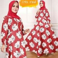 Yang ini Ori gamis maxy bunga ima red baju wanita bagus murah maxi 92