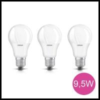 Harga Hemat! Osram Lampu Bohlam Led Bulb 9.5 Watt 3 Pcs - Putih .....