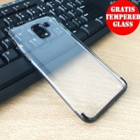 Softcase TPU Shiny Clear Ultra Slim Cover Case Casing HP Samsung J6
